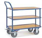 Rullebord 3 etager - 400 kg