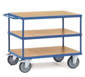 Rullebord 3 etager - 500 kg