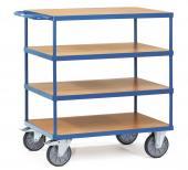Rullebord 4 etager - 500 kg