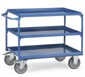 Stål Rullebord 3 etager - 500 kg