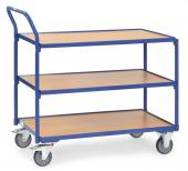 Rullebord 3 etager - 250 kg