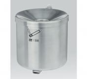 Rustfri askebæger - 2,4 L